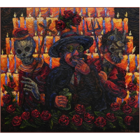 Saint Simone (San Simon with Rey Pascual and Lucifer)
