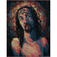 Ecce Homo: Self Portrait with Crown of Barbed Wire